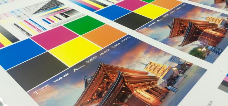 Wzornik druku farbami UV